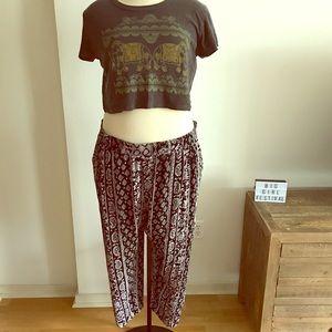 Pants - 🦋BOHO🦋 Harem Pants Plus Size 3X